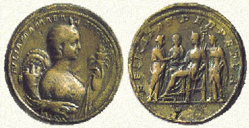 file emperor medallion caracalla wiki with roman obverse walters